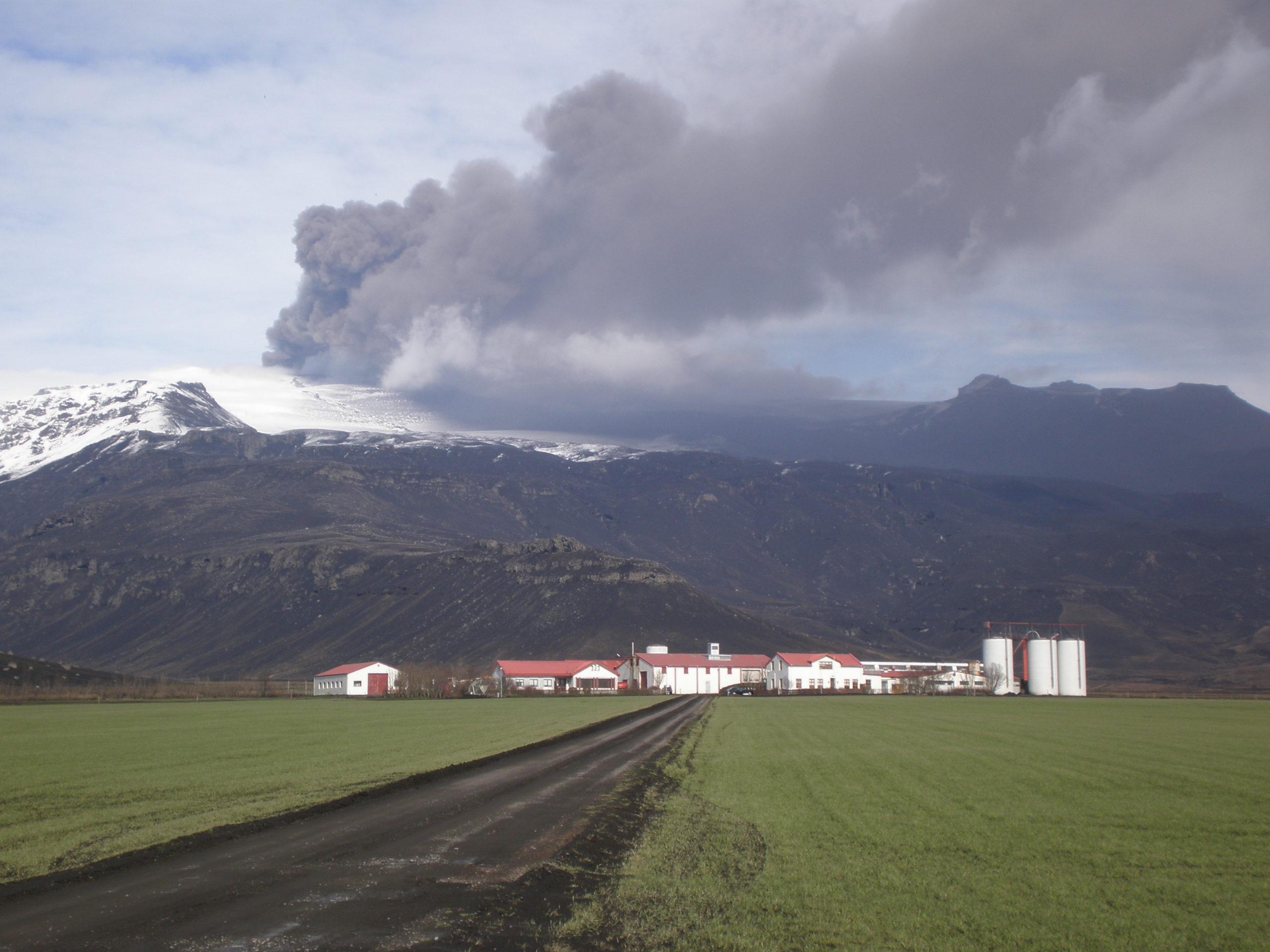 Island - vulkanudbrud