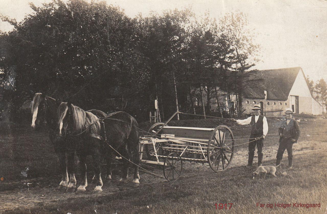 Ejnar og Holger Kirkegaard - 1917